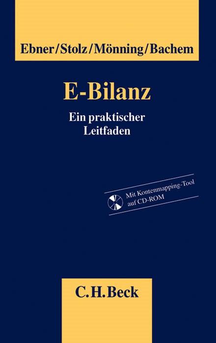 E-Bilanz | Ebner / Stolz / Mönning / Bachem, 2013 (Cover)