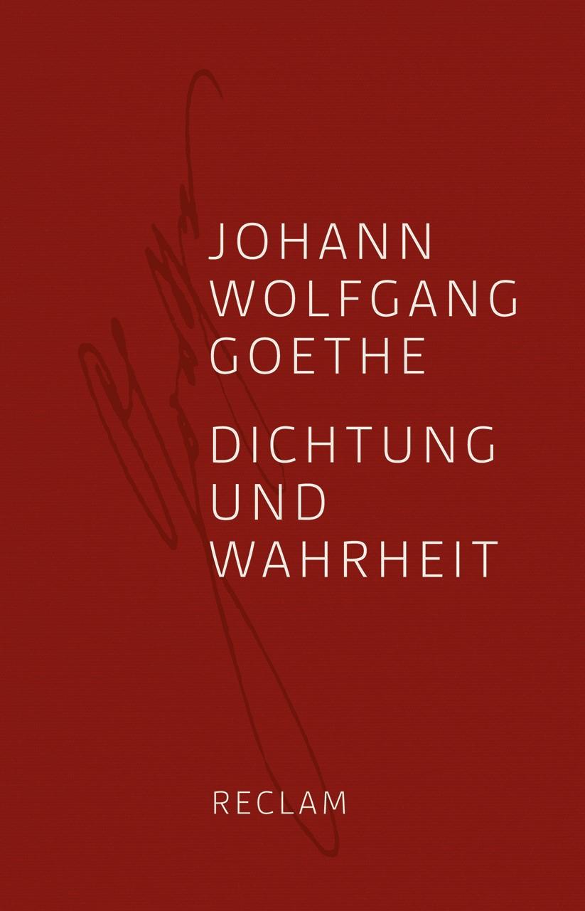 Abbildung von Goethe / Hettche | Dichtung und Wahrheit | 2012