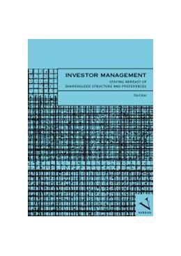 Abbildung von Läber   Investor Management   2004   Staying Abreast of Shareholder...