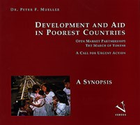 Development and AID in Poorest Countries. Open Market Parnerships - The March of Tokens   Mueller, 1994   Buch (Cover)