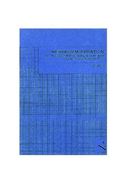 Abbildung von Moll | Wertkommunikation im unternehmerischen Kontext | 2002 | Ein handlungsorientierter Ansa...