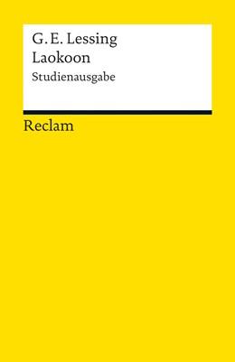 Abbildung von Lessing / Vollhardt | Laokoon oder Über die Grenzen der Malerei und Poesie | 2012 | Studienausgabe | 18865