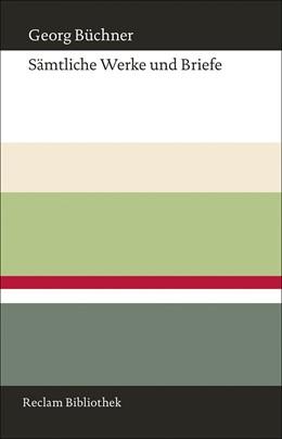 Abbildung von Büchner / Martin | Sämtliche Werke und Briefe | 2012