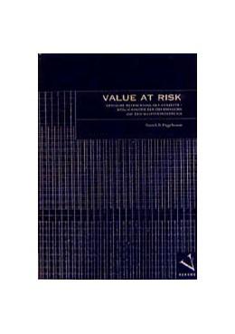 Abbildung von Diggelmann | Value at Risk | 1999 | Kritische Betrachtung des Konz...