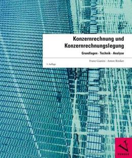 Abbildung von Gianini / Riniker | Konzernrechnung und Konzernrechnungslegung | 2009 | Grundlagen, Technik, Analyse