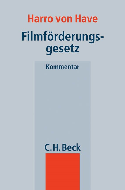 Filmförderungsgesetz   von Have, 2005   Buch (Cover)