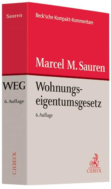 Wohnungseigentumsgesetz: WEG | Sauren | 6. Auflage, 2014 | Buch (Cover)