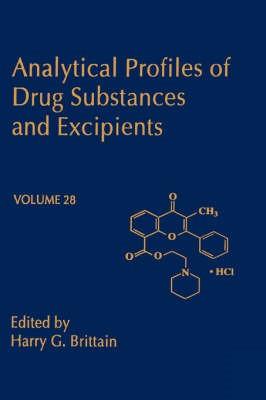 Abbildung von Brittain | Analytical Profiles of Drug Substances and Excipients | 2002