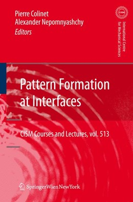 Abbildung von Colinet / Nepomnyashchy   Pattern Formation at Interfaces   2012   513
