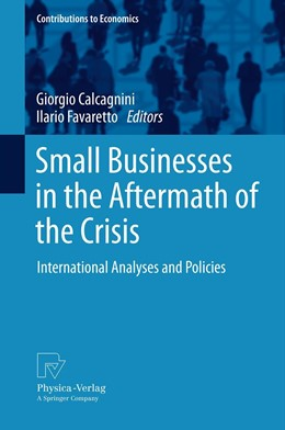 Abbildung von Calcagnini / Favaretto | Small Businesses in the Aftermath of the Crisis | 2012 | International Analyses and Pol...