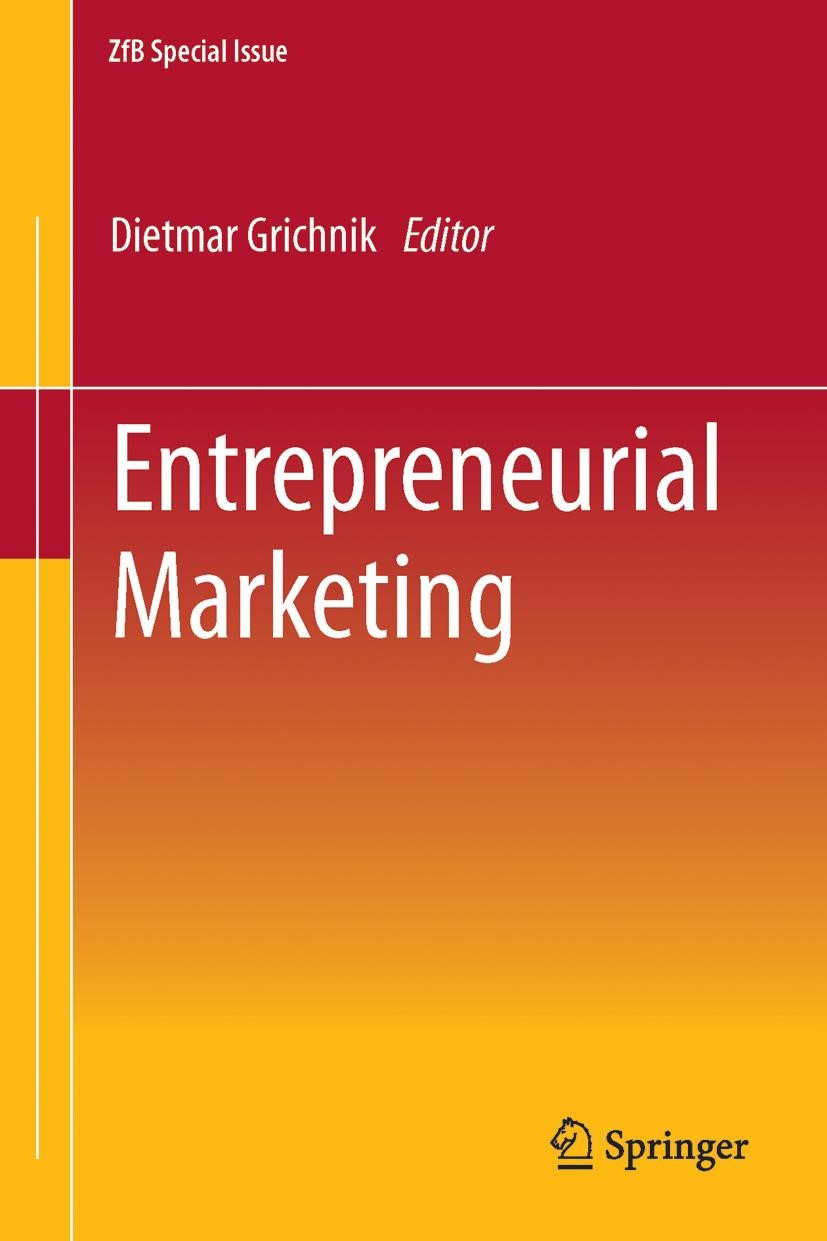 Entrepreneurial Marketing | Grichnik / Witt | 1. Auflage 2012, 2011 | Buch (Cover)