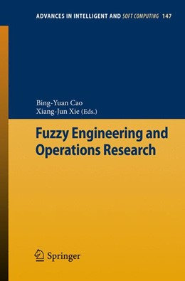 Abbildung von Cao / Xie | Fuzzy Engineering and Operations Research | 2012 | 147