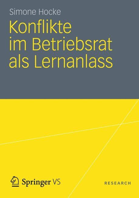 Abbildung von Hocke | Konflikte im Betriebsrat als Lernanlass | 2012