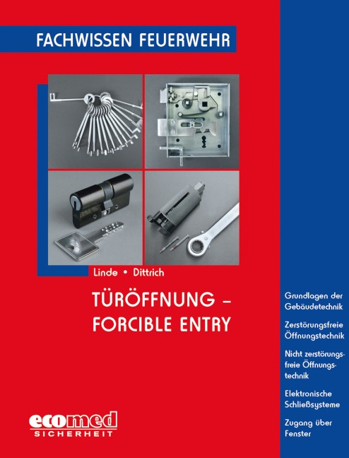 Türöffnung - Forcible Entry | Linde / Dittrich, 2012 | Buch (Cover)