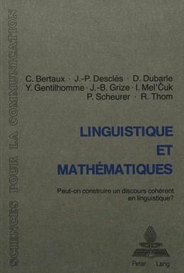 Abbildung von Bertaux / Gentilhomme / Dubarle   Linguistique et mathématiques   1982   Peut-on construire un discours...   3