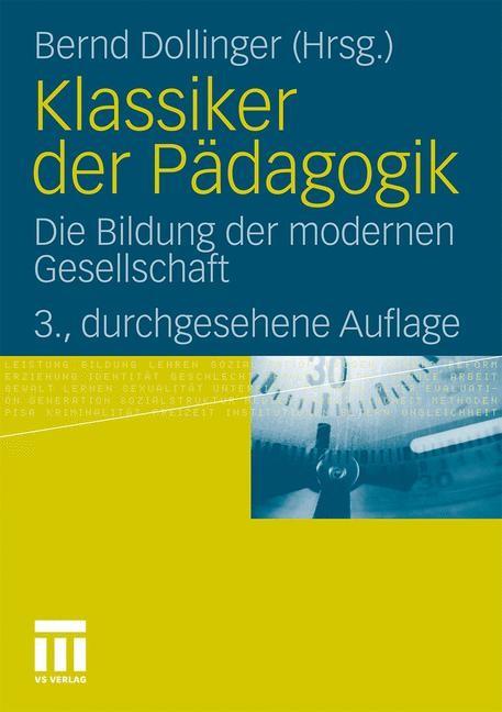 Abbildung von Dollinger | Klassiker der Pädagogik | 2011