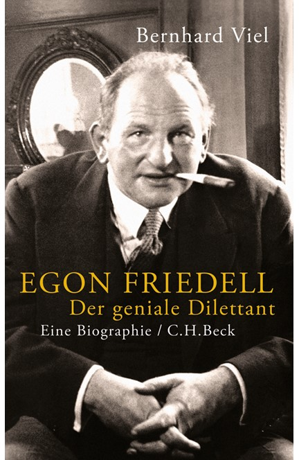 Cover: Bernhard Viel, Egon Friedell
