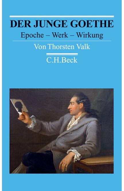Cover: Thorsten Valk, Der junge Goethe