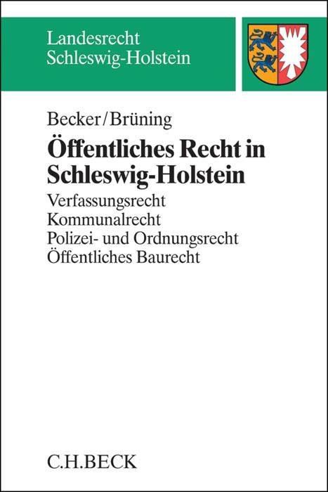 Abbildung von Becker / Brüning | Öffentliches Recht in Schleswig-Holstein | 2014
