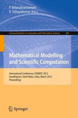 Abbildung von Balasubramaniam / Uthayakumar | Mathematical Modelling and Scientific Computation | 2012 | International Conference, ICMM... | 283