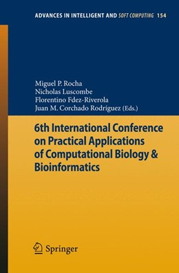 Abbildung von Rocha / Luscombe / Fdez-Riverola / Rodríguez | 6th International Conference on Practical Applications of Computational Biology & Bioinformatics | 2012 | 154