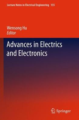 Abbildung von Hu | Advances in Electric and Electronics | 2012