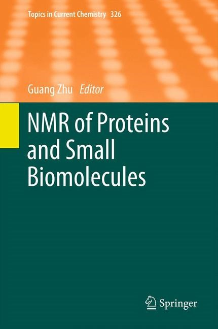 Abbildung von Zhu | NMR of Proteins and Small Biomolecules | 2012