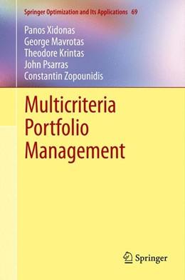 Abbildung von Xidonas / Mavrotas / Krintas | Multicriteria Portfolio Management | 2012 | 69