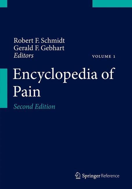 Abbildung von Gebhart / Schmidt | Encyclopedia of Pain | 2013