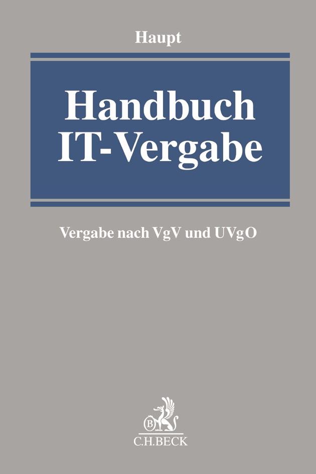 Handbuch IT-Vergabe | Haupt, 2020 | Buch (Cover)