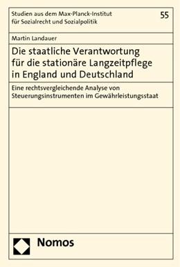Abbildung von Landauer | Die staatliche Verantwortung für die stationäre Langzeitpflege in England und Deutschland | 1. Auflage 2012 | 2012 | Eine rechtsvergleichende Analy... | 55