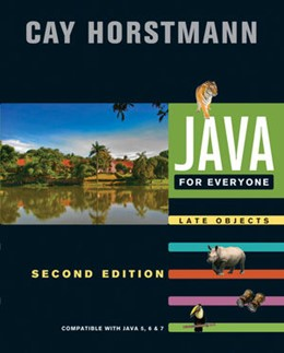 Abbildung von Horstmann | Java For Everyone | 2012 | Compatible with Java 5, 6, and...