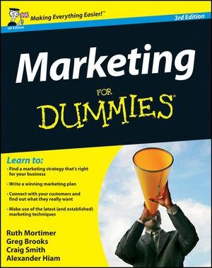 Abbildung von Mortimer / Brooks / Smith | Marketing For Dummies | 2012