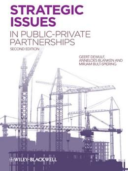 Abbildung von Dewulf / Blanken / Bult-Spiering | Strategic Issues in Public-Private Partnerships | 2012