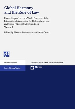 Abbildung von Bustamante / Onazi | Global Harmony and the Rule of Law | 2012 | Proceedings of the 24th World ... | 130