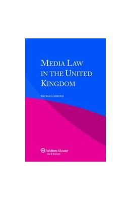 Abbildung von Gibbons | Media Law in the United Kingdom | 2012