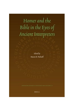 Abbildung von Niehoff | Homer and the Bible in the Eyes of Ancient Interpreters | 2012 | 16