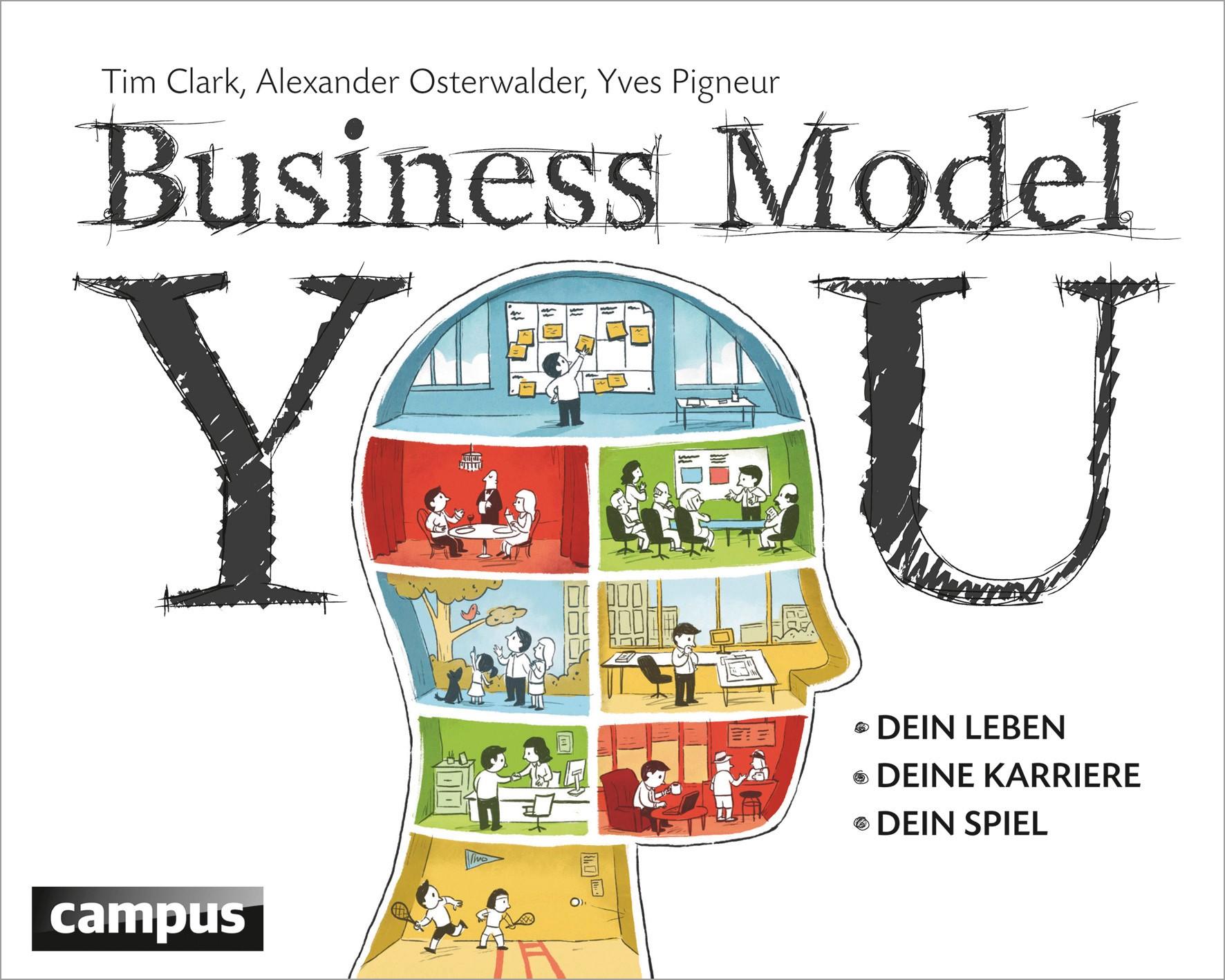 Abbildung von Clark / Osterwalder / Pigneur | Business Model You | 2012