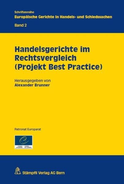 Abbildung von Brunner (Hrsg.) | Handelsgerichte im Rechtsvergleich (Projekt Best Practice) | 2012