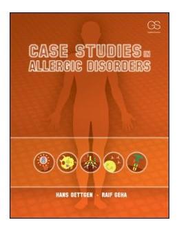 Abbildung von Oettgen / Geha   Case Studies in Allergic Disorders   2013