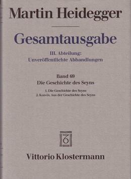 Abbildung von Heidegger / Trawny | Martin Heidegger Gesamtausgabe | 2., durchgesehene Auflage 2012 | 2012 | III. Abteilung: Unveröffentlic...