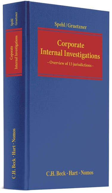 Corporate Internal Investigations | Spehl / Gruetzner, 2013 | Buch (Cover)