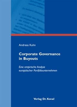 Abbildung von Kuhn | Corporate Governance in Buyouts | 2012 | Eine empirische Analyse europä... | 132