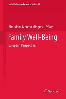 Abbildung von Moreno Minguez | Family Well-Being | 2012 | European Perspectives | 49