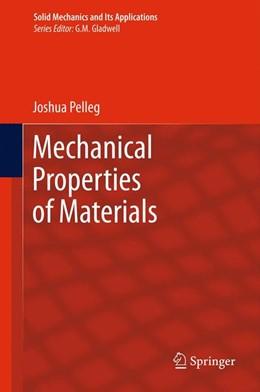 Abbildung von Pelleg | Mechanical Properties of Materials | 2012 | 190