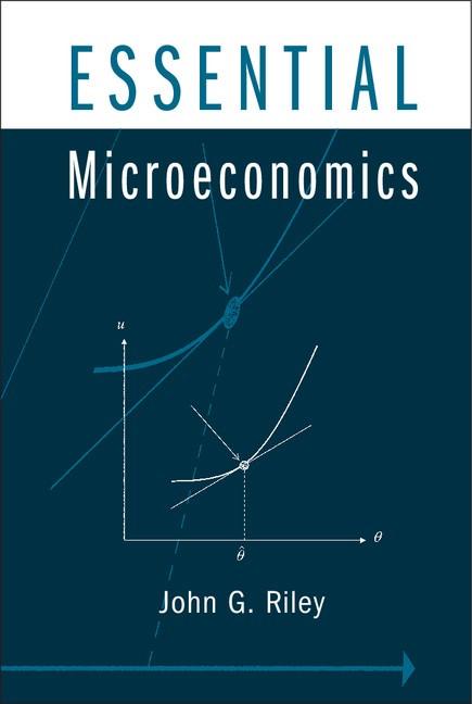 Abbildung von Riley | Essential Microeconomics | 2012