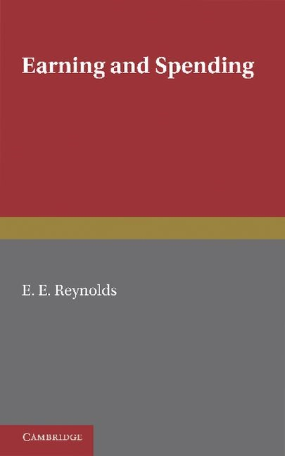 Abbildung von Reynolds | Earning and Spending | 2012