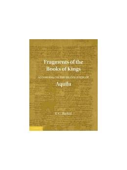 Abbildung von Burkitt | Fragments of the Books of Kings According to the Translation of Aquila | 2012