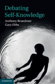 Abbildung von Brueckner / Ebbs | Debating Self-Knowledge | 2012