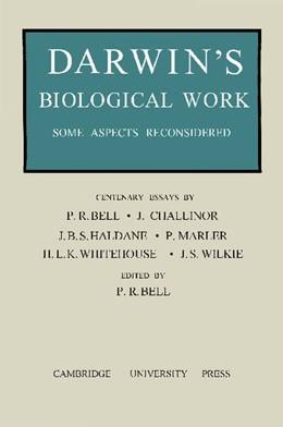 Abbildung von Bell | Darwin's Biological Work | 2012 | Some Aspects Reconsidered